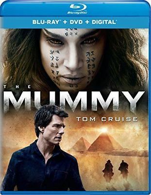 The Mummy (Blu-ray/DVD, 2017, 2-Disc Set, Includes Digital Copy) WITH SLIP COVER