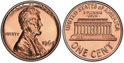 1964 Proof Lincoln Cent Nice Coins Priced Right Shipped FREE