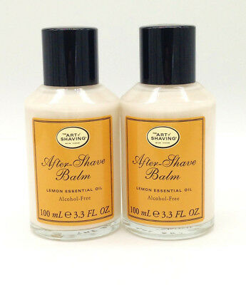 The Art of Shaving After-Shave Balm Lemon Unboxed (Lot of 2)