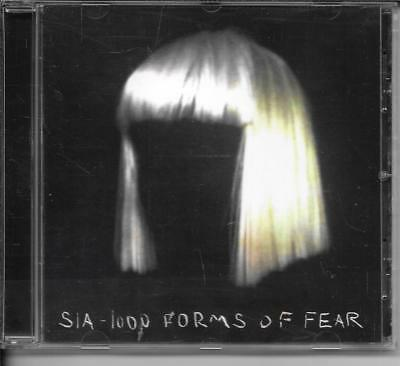 Cd Album 12 Titres--Sia--1000 Forms Of Fear--2014