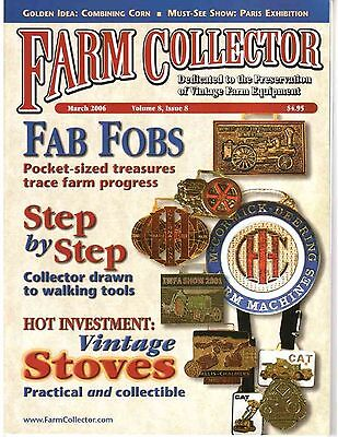 Watch fobs, 50 year of combine history, cast iron stove
