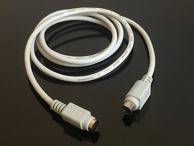 1x PS2 Extension Cable 6 pin mini-DIN male/female for  Mouse Keyboard 1.5m