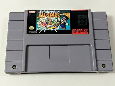 Super Mario All-Stars Game for Super Nintendo SNES *TESTED & AUTHENTIC*