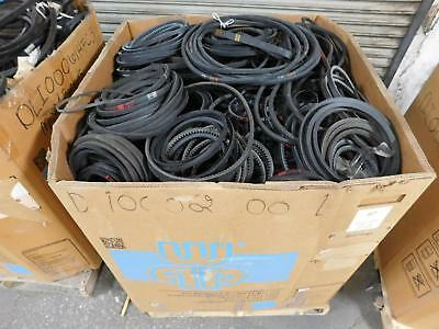 Lot of 604 Lbs Gates Wholesale Lot of Industrial Motor Belts T129351