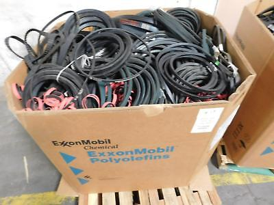 Lot of 609 Lbs Gates Wholesale Lot of Industrial Belts for Commerical Use T12949