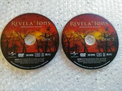 Revelations DVD Disc 1 & 2 Ominium Finis Imminet FREE SHIPPING