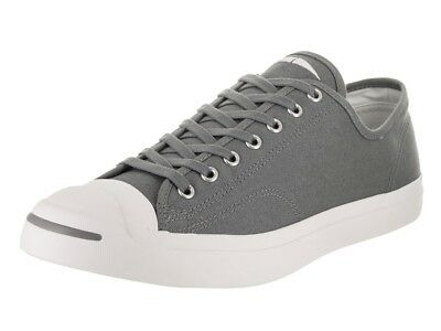 68758e9d3cb3 Converse Jack Purcell Canvas OX Cool Grey Low Top Sneaker 161635C