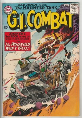 G.I. Combat # 108 Strict VF+ High-Grade Sgt. Rock 1st Crossover to G.I. Combat