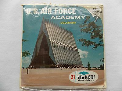US Air Force Academy  View Master  Packet  1960s
