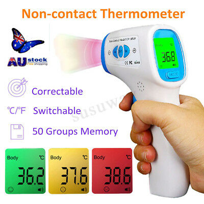 Medical Forehead Ear Thermometer Baby Adults Fever Infrared Digital Thermometer