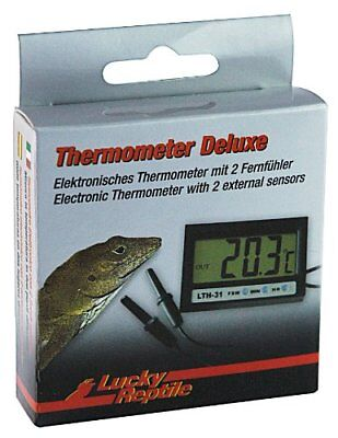 Lucky Reptile LTH-31 Thermometer Deluxe, elektronisch mit F(1 Stück)