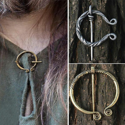 Jewelry Pin Medieval Hollow Buckle Viking Brooch Celtic Accessories Cloak Clasp