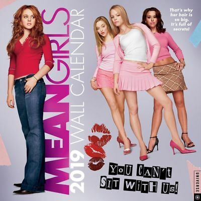2019 Mean Girls Wall Calendar, Comedy Movies by Andrews McMeel Publishing