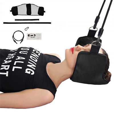 Premium Neck Hammock Portable Cervical Traction Device for Neck Pain Relief NEW
