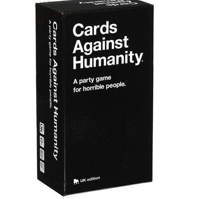Cards Against Humanity UK edition 550 Card Full Base Set Pack Party Game New Toy