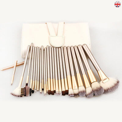 Professional Make up Brushes Set Cosmetic Tool Kabuki Makeup Kit + Luxury Bag UK