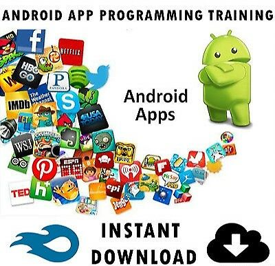 Android App Programming Professional Video Training Tutorial - Instant Download