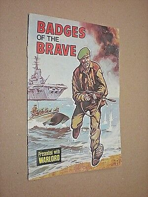 Badges Of The Brave. Presented With Warlord Comic. 1975. All Badges Complete