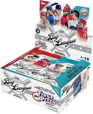 2018 Topps Big League Baseball Retail Edition Factory Sealed 24 Pack Box