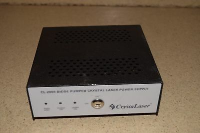 ^^ Crystalaser Cl-2000 Diode Pumped Crystal Laser Power Supply - No Key