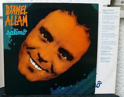 DJAMEL ALLAM - Salimo   Arab Pop Rock LP