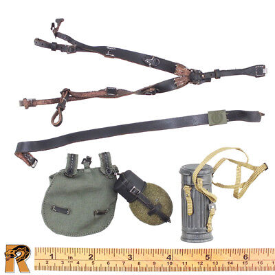 Egon MG34 Gunner - Belt & Strap w/ Pouches - 1/6 Scale - DID Action Figures