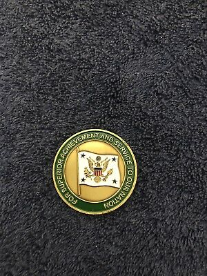 WHMO CHALLENGE COIN White House Military Office Financial Management