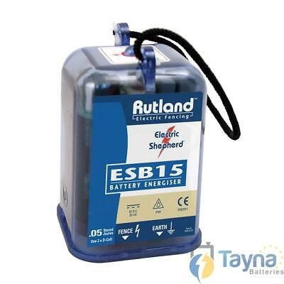 Rutland ESB15 Electric Fence Batterie Energiser