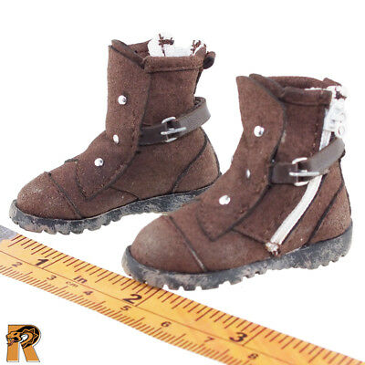 Doomsday Survivors - Boots (for Feet) - 1/6 Scale - Flagset Action Figures