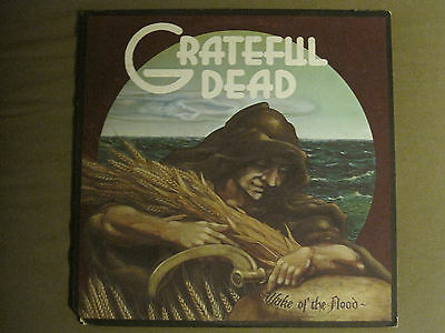 Grateful Dead Wake Of The Flood Lp '73 Gd-01 Folk Blues Psych Rock Country Vg+