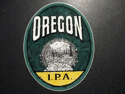 OREGON ALE & BEER CO IPA STICKER decal craft beer brewing brewery