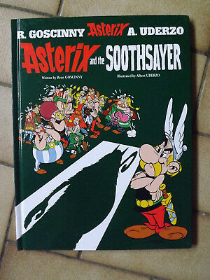 """""""Asterix and the Soothsayer"""": Album 19 by Rene Goscinny (Hardback, 2004) - NEW"""