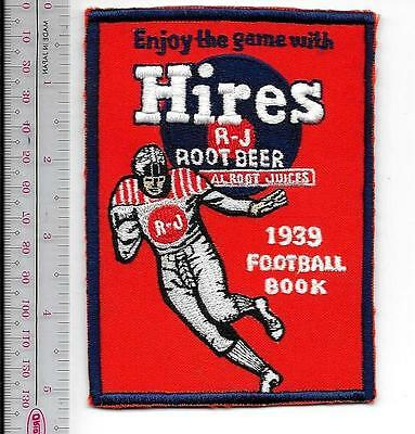 Football RJ Hires Root Beer Sponsor of the 1939 College Footbal Promo Patch