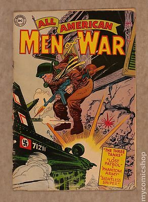 All American Men of War #13 1954 PR 0.5