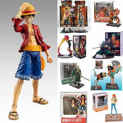 One Piece Action Figure Figurine Luffy/Ace/Zoro/Sanji Anime Collectible Toy Gift