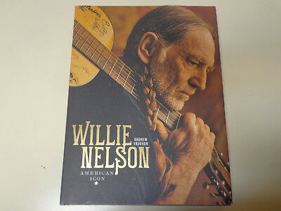 Willie Nelson – American Icon HBDJ Andrew Vaughan Biography Illustrated
