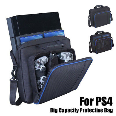 Big PlayStation 4 PS4 Console Case Travel Protective Padded Carry Shoulder Bag