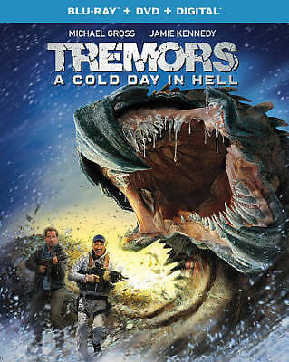 BLU-RAY Tremors: A Cold Day in Hell (Blu-Ray/DVD) NEW