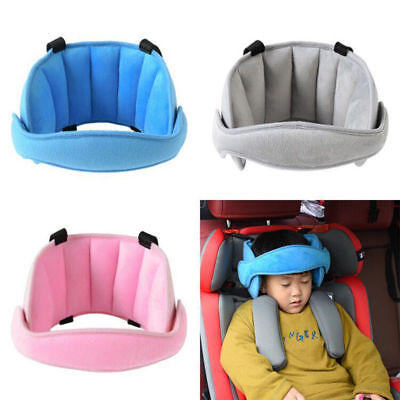 Kids Baby Head Fixing Band Car Seat Belt Adjustable Sleeping Support Holder Soft