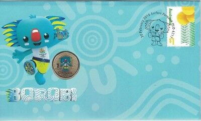 2018 Australia PNC Borobi $1 UNC Coin -  Gold Coast Commonwealth Games