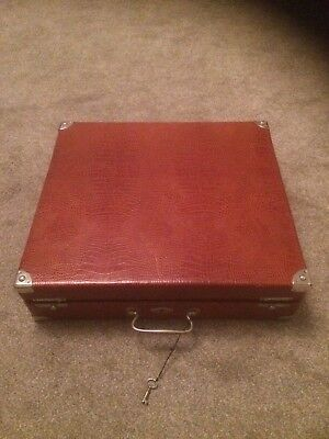 crocidile Art Deco Vanity Case Handmade Good Quality