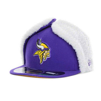 Minnesota Vikings Licenced NFL 59FIFTY Dog Ear Fitted Cap