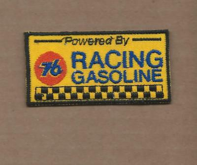 New 1 1/2 X 3 1/8 Inch Union 76 Racing Gasoline Iron On Patch Free Shipping