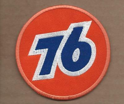 New 3 1/4 Inch Union 76 Gasoline Iron On Patch Free Shipping