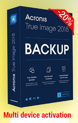 Acronis True Image 2019 for pc 🔐 Lifetime multi devices 🔐 instant Delivery📥