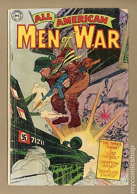 All American Men of War #13 1954 GD- 1.8