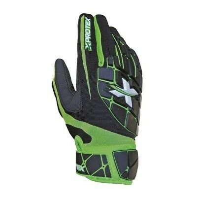 Xprotex Raykr Batting Gloves Youth - Green - Large