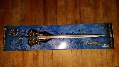 Official LOTR Lord of the Rings United Cutlery GLAMDRING Sword of Gandalf - New