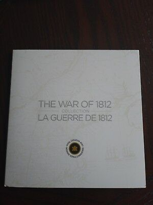 Canada War of 1812 Coin Card Collection with All the Coins (2012) Uncirculated