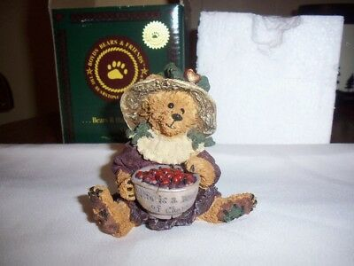Ada Mae Life Is A Bowl Of Cherries 1993 Boyd's Bear & Friends Collection